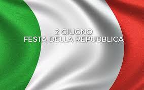 Celebrazioni 2 Giugno – Anniversario della Repubblica Italiana